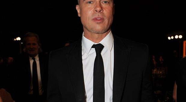 Brad Pitt flew to Australia after appearing at the Screen Actors Guild Awards