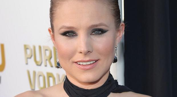Kristen Bell had her first child in March last year