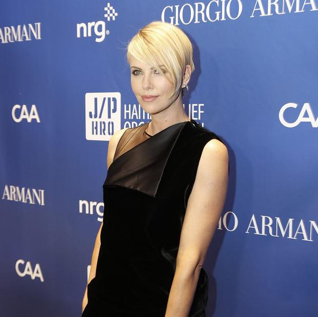 Charlize Theron is thought to be dating Sean Penn
