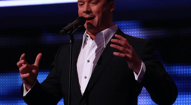 Singer Russell Watson has got engaged