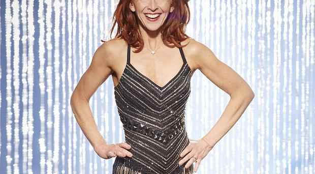 Bonnie Langford says Dancing On Ice is much more competitive this year