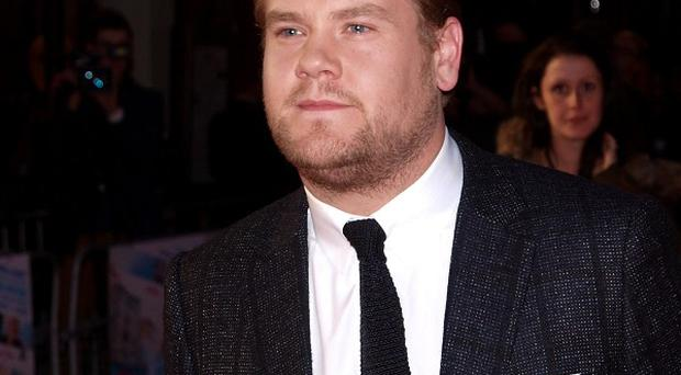 James Corden says writing a new TV series is terrifying