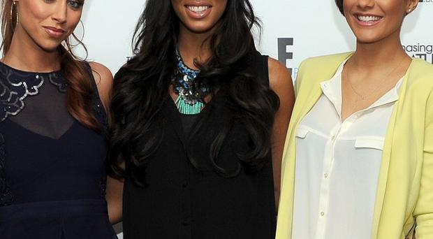 The Saturdays' Una Foden, Rochelle Humes and Frankie Sandford are all up for Celebrity Mum of the Year