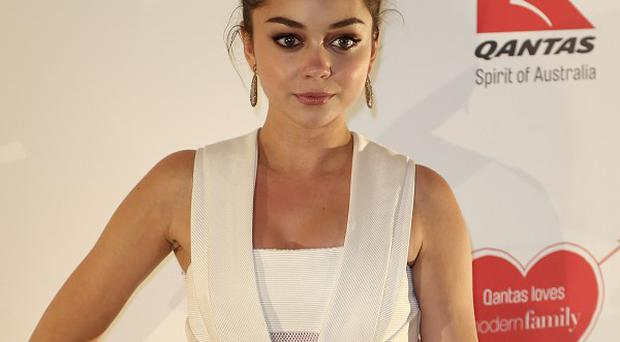 Sarah Hyland was allegedly groped at an event in Australia (AP)