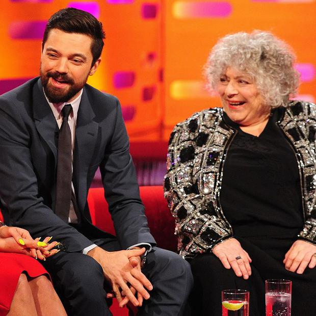 Miriam Margolyes was left bemused by her fellow guests on The Graham Norton Show