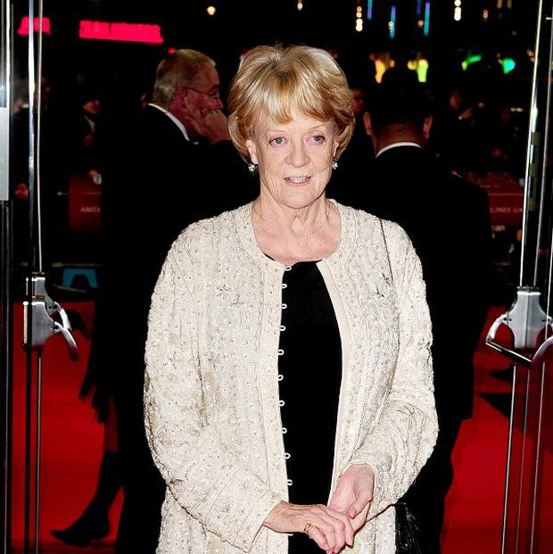 Dame Maggie Smith plays the Dowager Countess of Grantham in Downton Abbey