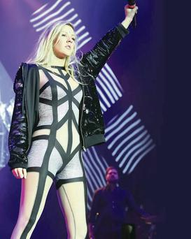 Ellie Goulding in concert at the Odyssey arena in Belfast