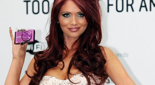 Amy Childs appeared on The Jump with Darren Gough