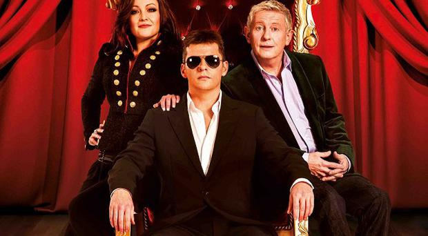 X Factor stars are spoofed in the musical I Can't Sing!