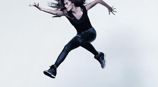 Nicole Scherzinger as photographed by Rankin for Oxfam's Lift Lives for Good campaign.