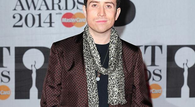 Nick Grimshaw has got on his bike for Sport Relief