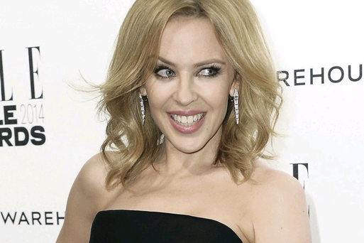 Kylie Minogue is heading to Belfast