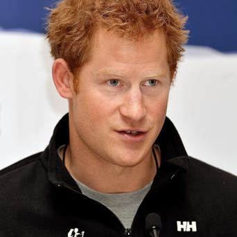 Prince Harry suffered during his South Pole trek