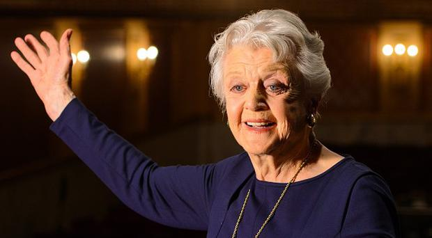 Dame Angela Lansbury has returned to the London stage for the first time in almost 40 years