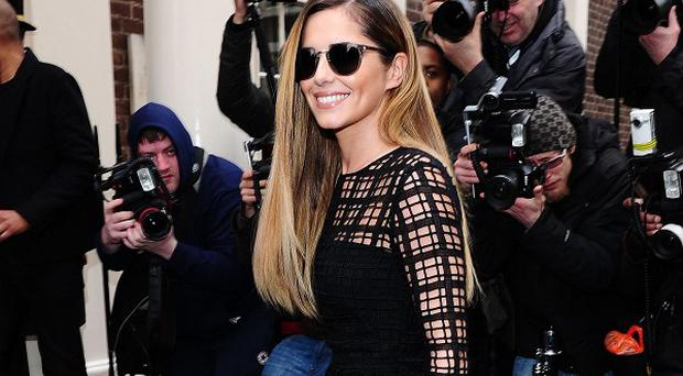 Cheryl Cole has spoken about her experience with malaria
