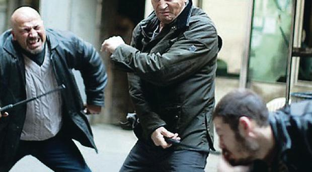 Liam Neeson, seen here in Taken 2, is set to team up with Pierce Brosnan