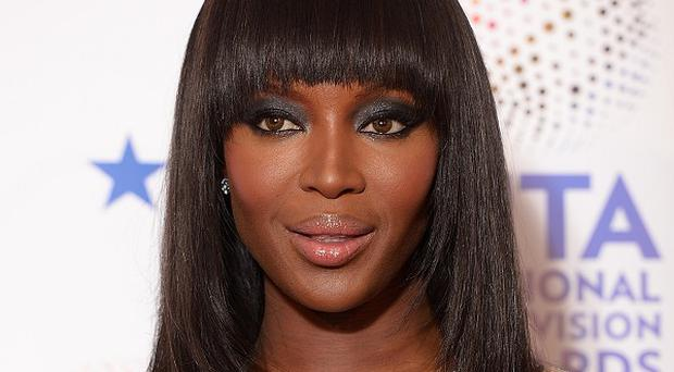 Naomi Campbell has given her opinion on Kim Kardashian and Kanye West's Vogue cover