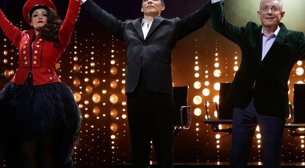 Nigel Harman's performance as Simon Cowell in The X Factor musical I Can't Sing! has won rave reviews