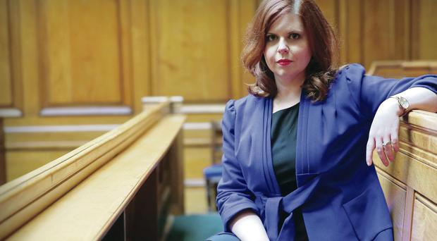Orlagh McGahan appears in BBC NI's fly-on-wall show Barristers