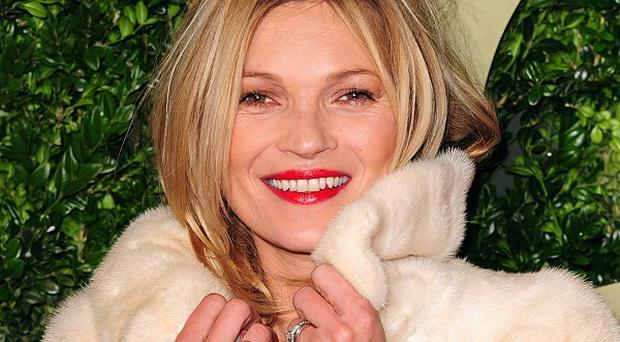 Kate Moss has graced the cover of Vogue for the 35th time