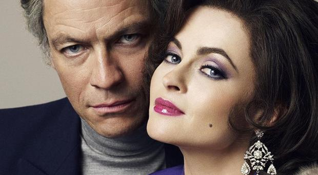 Dominic West and Helena Bonham Carter are nominated for Baftas for their roles as Richard Burton and Elizabeth Taylor