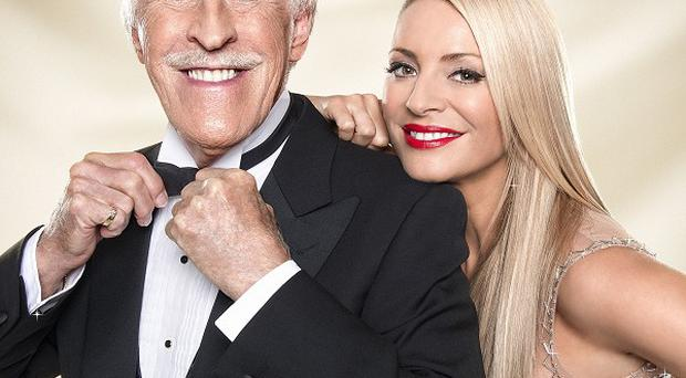 Sir Bruce Forsyth said it wasn't easy telling his Strictly Come Dancing co-host Tess Daly of his exit from the show