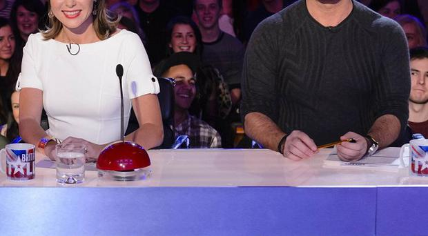 The Britain's Got Talent judges from the UK version of the hit reality franchise
