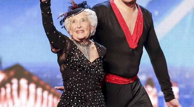 Paddy Jones and dance partner Nico Espinosa have sailed through to the live shows of Britain's Got Talent