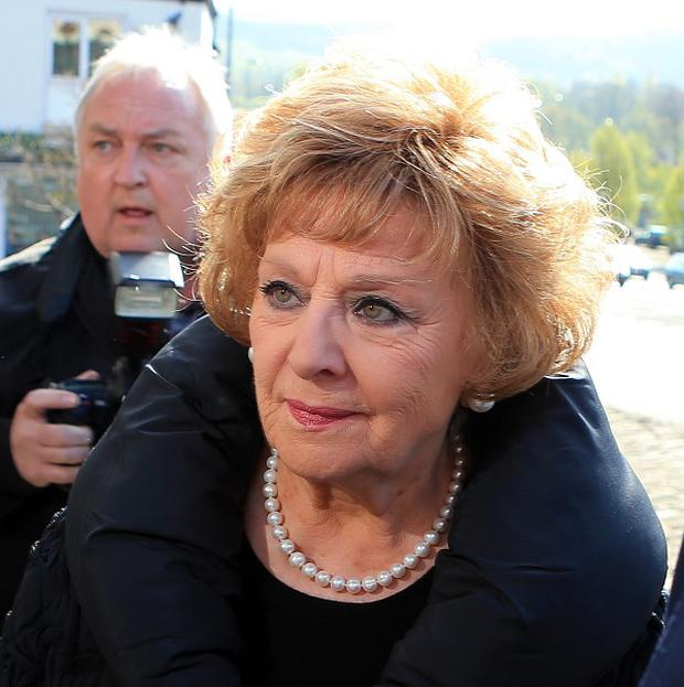 Coronation Street actress Barbara Knox denies a drink-driving charge