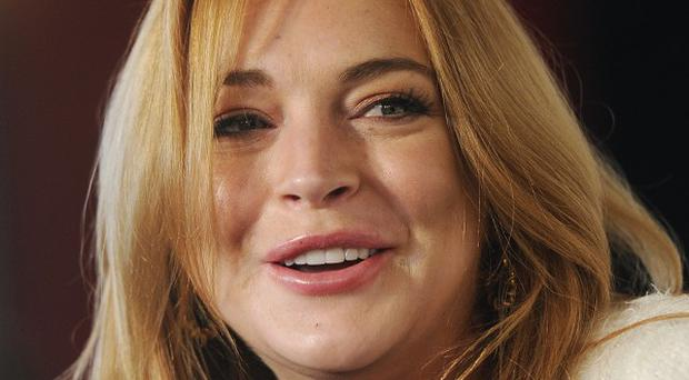 Lindsay Lohan said her last drink was a long time ago