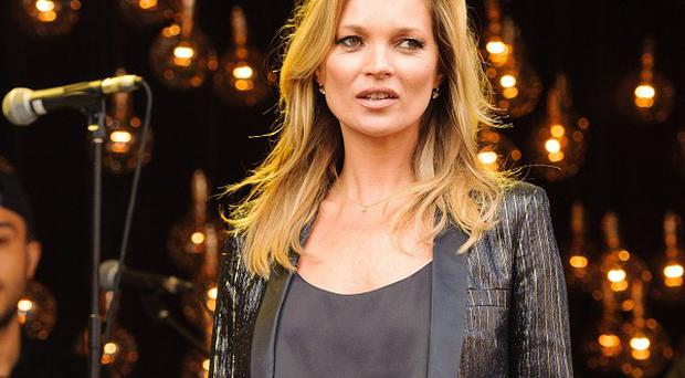 Kate Moss launches her latest collection for Topshop