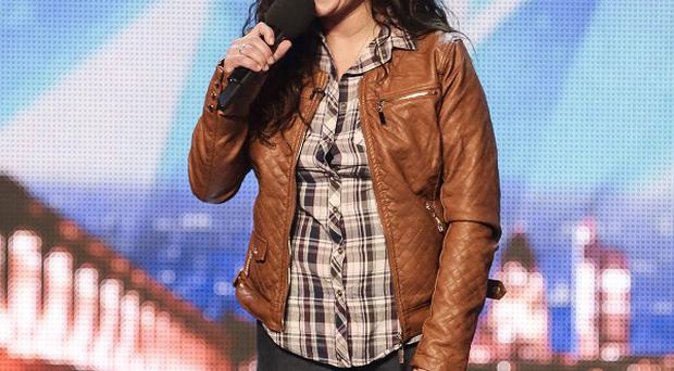 Eva Iglesias is hoping it'll be third time lucky as she appears on Britain's Got Talent