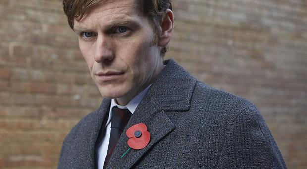 Shaun Evans plays a young Morse in Endeavour