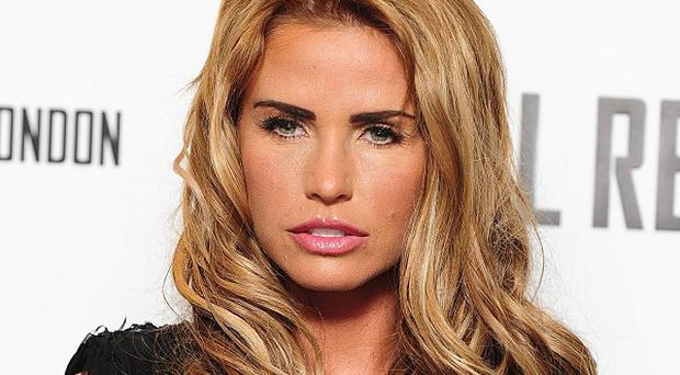 Model Katie Price has been given three points on her driving licence and ordered to pay £1,220 after she pleaded guilty to jumping a red light
