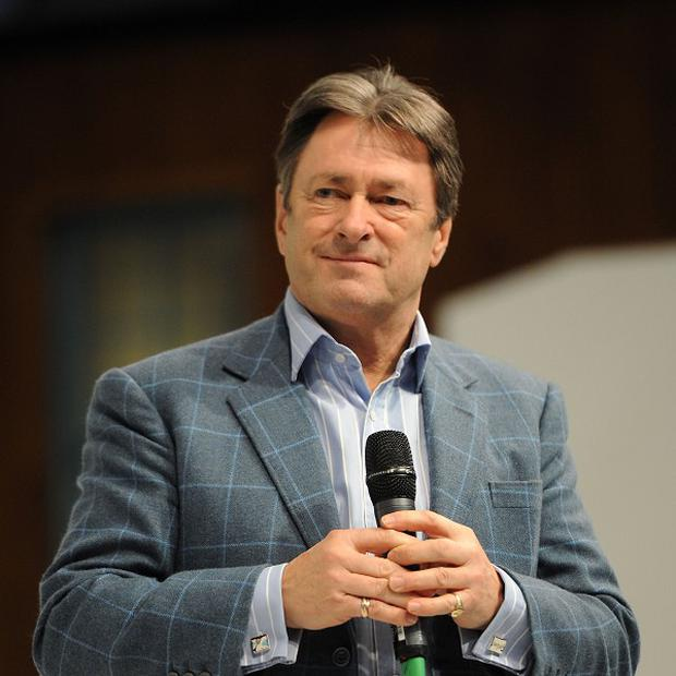 Alan Titchmarsh who has admitted he was