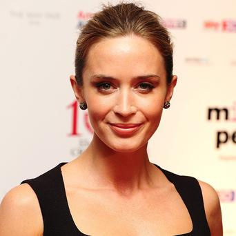 Emily Blunt became a mum in February