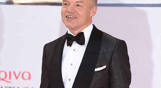 Graham Norton is happy to carry on with his chat show