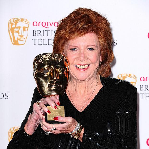 Cilla Black received the Special Award at the Arqiva British Academy Television Awards 2014