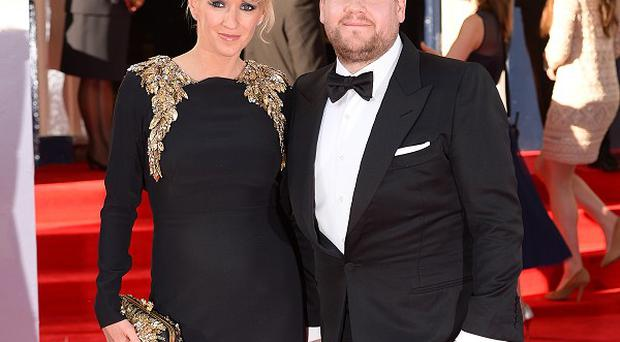 James Corden's wife Julia Carey is expecting their second child