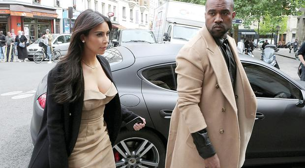 Honeymooners: Kim Kardashian and Kanye West are rumoured to be staying in Castlemartyr resort