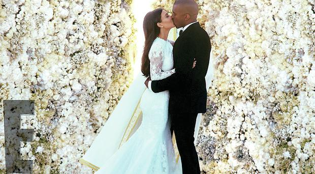 Kim and Kanye getting married in Florence