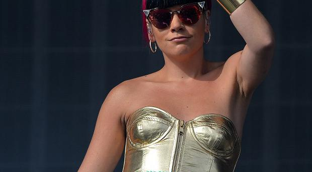 Lily Allen has explained how she found her signature style