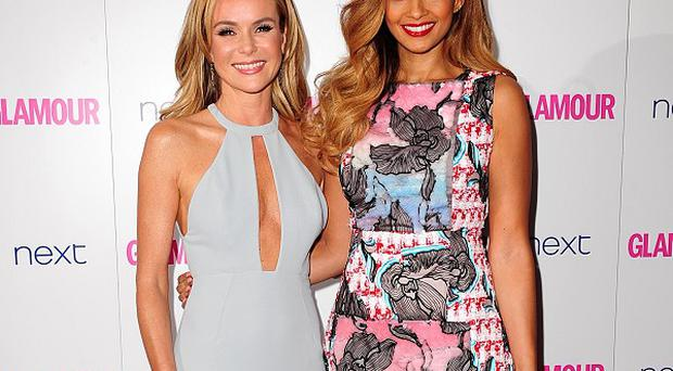 Amanda Holden and Alesha Dixon brought their own glamour to the red carpet
