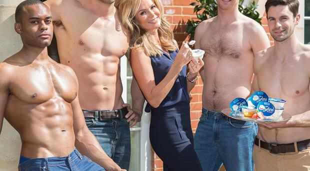 Amanda Holden is fronting a new campaign for Oykos