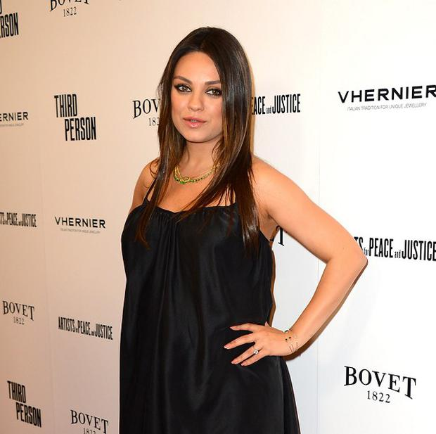 Mila Kunis said that she loves being pregnant