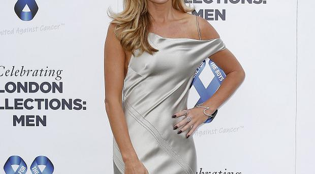 Amanda Holden at the One For The Boys charity fashion ball in London