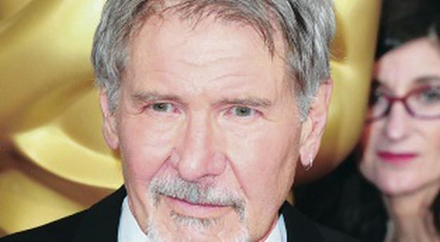 Accident: Harrison Ford