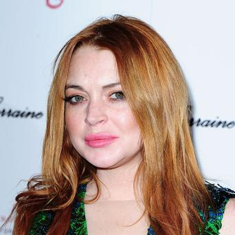 Lindsay Lohan apparently caused a stir at Selfridges