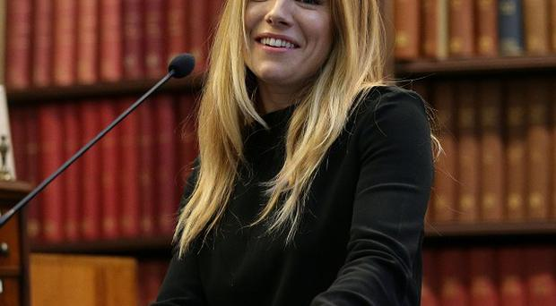 Sienna Miller visited Lebanon with the International Medical Corp