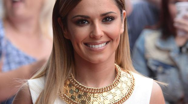 Judge Cheryl Cole arrives at the X Factor auditions